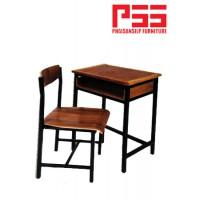 โต๊ะ-เก้าอี้นักเรียน ไม้อัดสัก JP