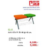 เก้าอี้พักค่อย 2 ที่นั่ง CL-2COLUMN