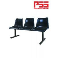เก้าอี้แถวโพลี 3 ที่นั่ง