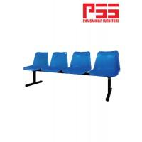 เก้าอี้แถวโพลี 4 ที่นั่ง