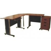 โต๊ะทำงาน ชุดผู้บริหาร PLUS4