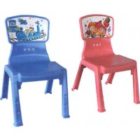 เก้าอี้พลาสติกลายการ์ตูน