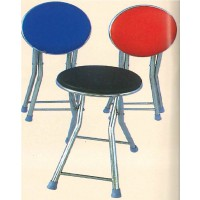 DG/S00,เก้าอี้กลมเบาะพับขาสแตนเลส,เก้าอี้กลม,เก้าอี้เบาะ,เก้าอี้พับขา,เก้าอี้สแตนเลส,เก้าอี้,chair
