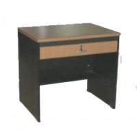 โต๊ะทำงานมีลิ้นชักกลาง