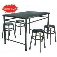 DG/THSL70116,โต๊ะขาตายสแตนเลส 0.70 เมตร,โต๊ะสแตนเลส,โต๊ะพับ,สแตนเลส,เกรด304,โต๊ะขาตาย,table,stainless