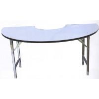 DG/TM60,โต๊ะโค้งครึ่งวงกลมเข้ามุม 60,โต๊ะโค้ง,โต๊ะครึ่งวงกลม,โต๊ะเข้ามุม,โต๊ะอเนกประสงค์,โต๊ะสำนักงาน,โต๊ะออฟฟิศ,โต๊ะ,table